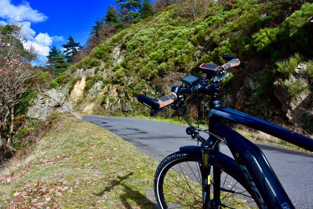 Balade en vélo électrique de Chanteuges à Loudes