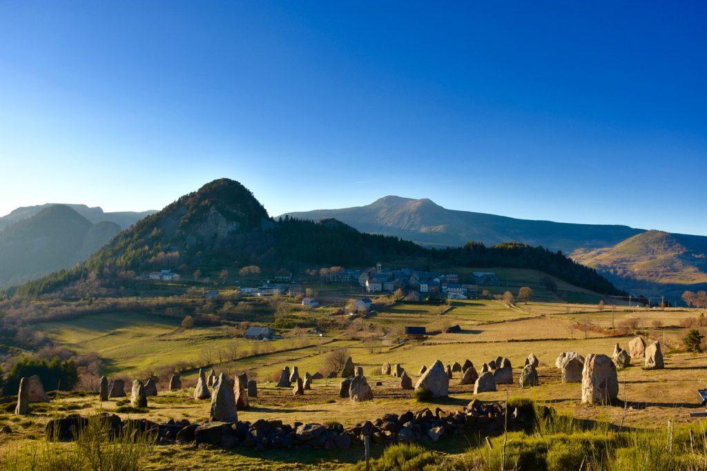 Une vue magnifique en vélo électrique en Auvergne
