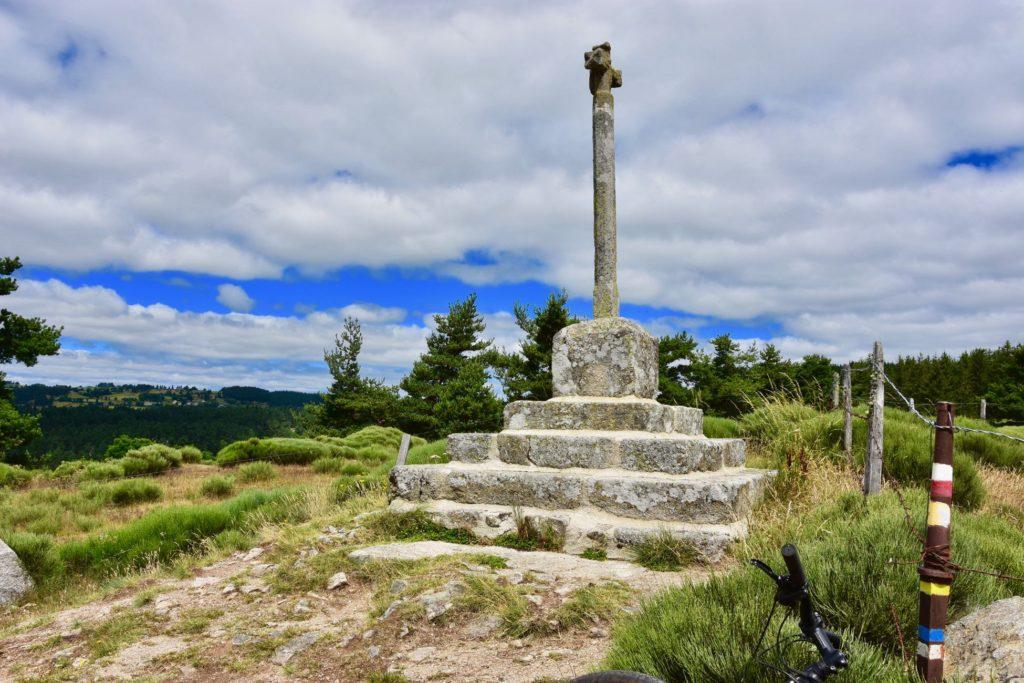 Sur les hauteurs de Saint-Alban Limagnole à vélo électrique