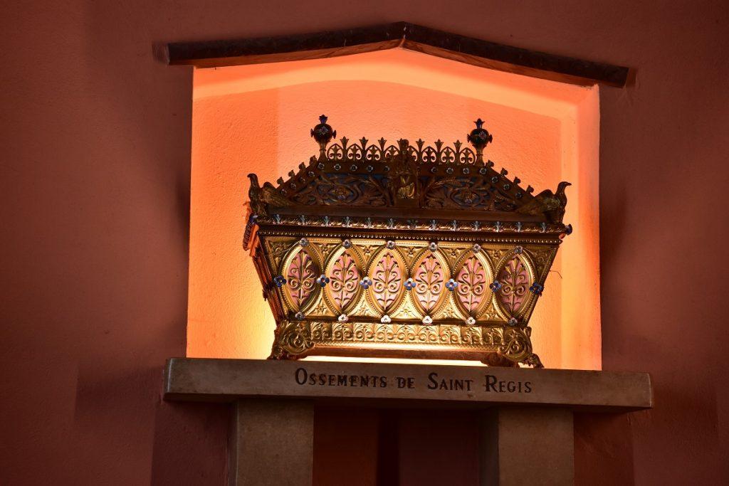 Reliques de Saint-Régis- Lalouvesc