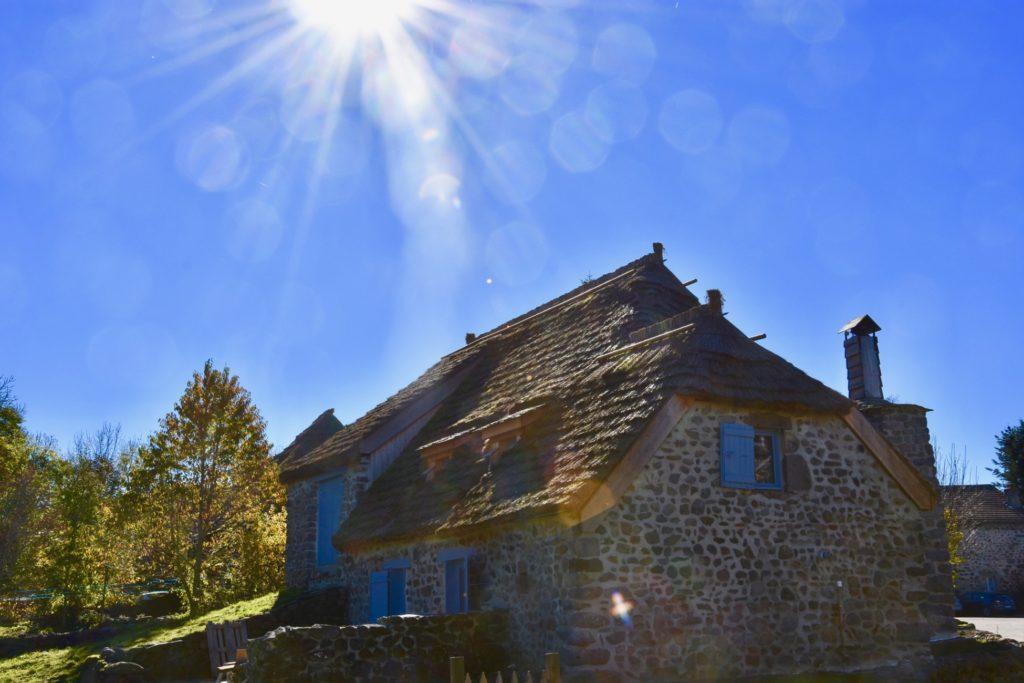 Chaumière à Moudeyres-Haute-Loire