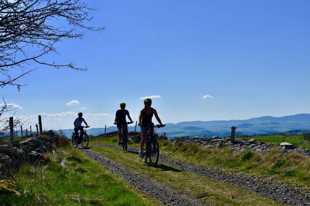Voyage à vélo en Auvergne