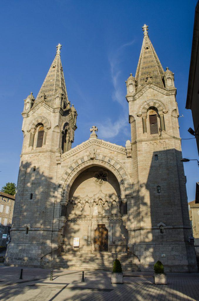 Basilique de Lalouvesc - Photo : Matthieu Fraysse