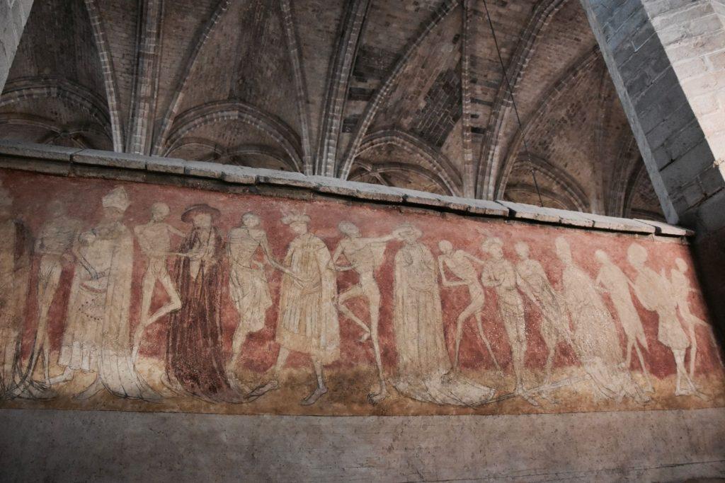 La Danse Macabre de l'Abbaye de la Chaise-Dieu