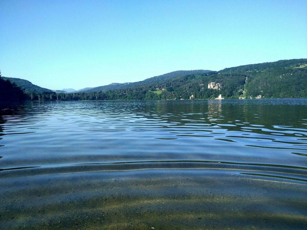 le lac d'Issarlès - Ardèche